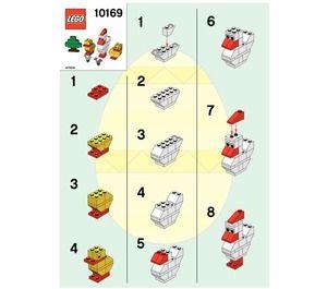 Chicken lego instructions