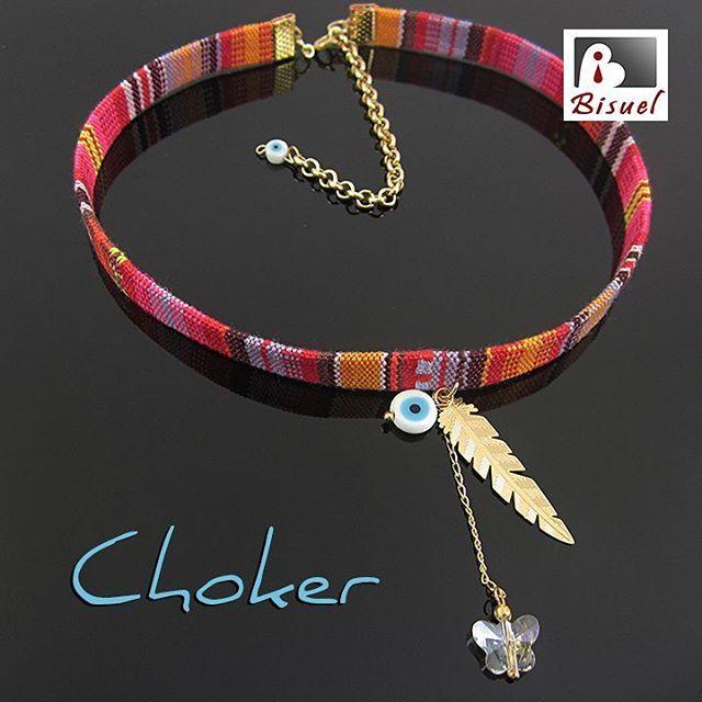❤ Choker Pluma ❤