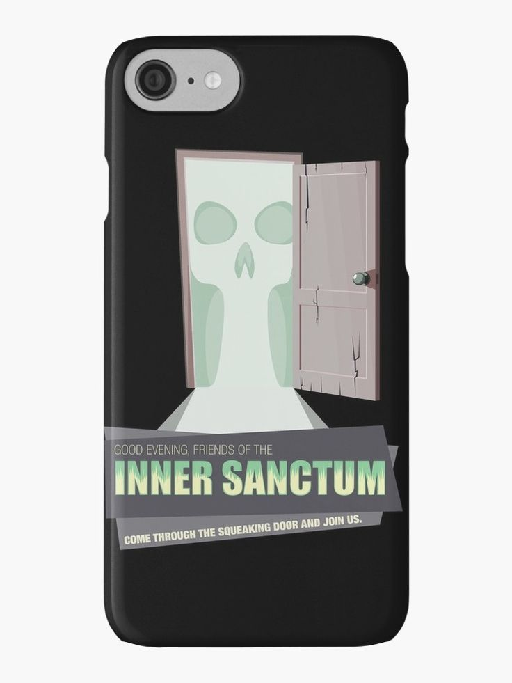 Inner Sanctum Phone Case #phonecase #smartphonecase #phonecaseartsy #OTR #oldtimeradio #innersactum #innersanctummysteries #radiodrama #radio
