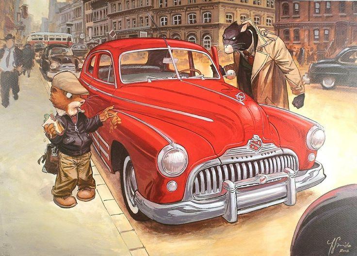 27 Best Blacksad Images On Pinterest  Comics, Comic Book