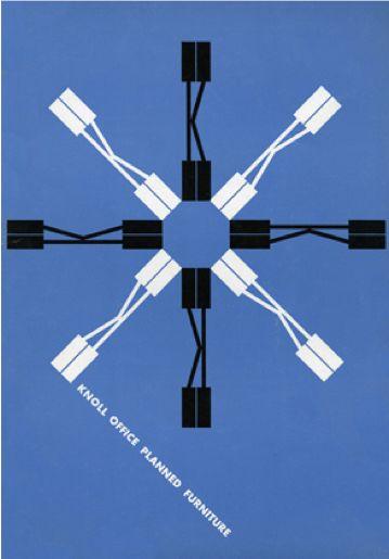 Graphic Design by Herbert Matter (1907-1984), 1946, Knoll.