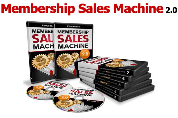 Membership Sales Machine 2.0 Review and Download – How Small Membership Machines Can Rake for You Massive, Passive Income
