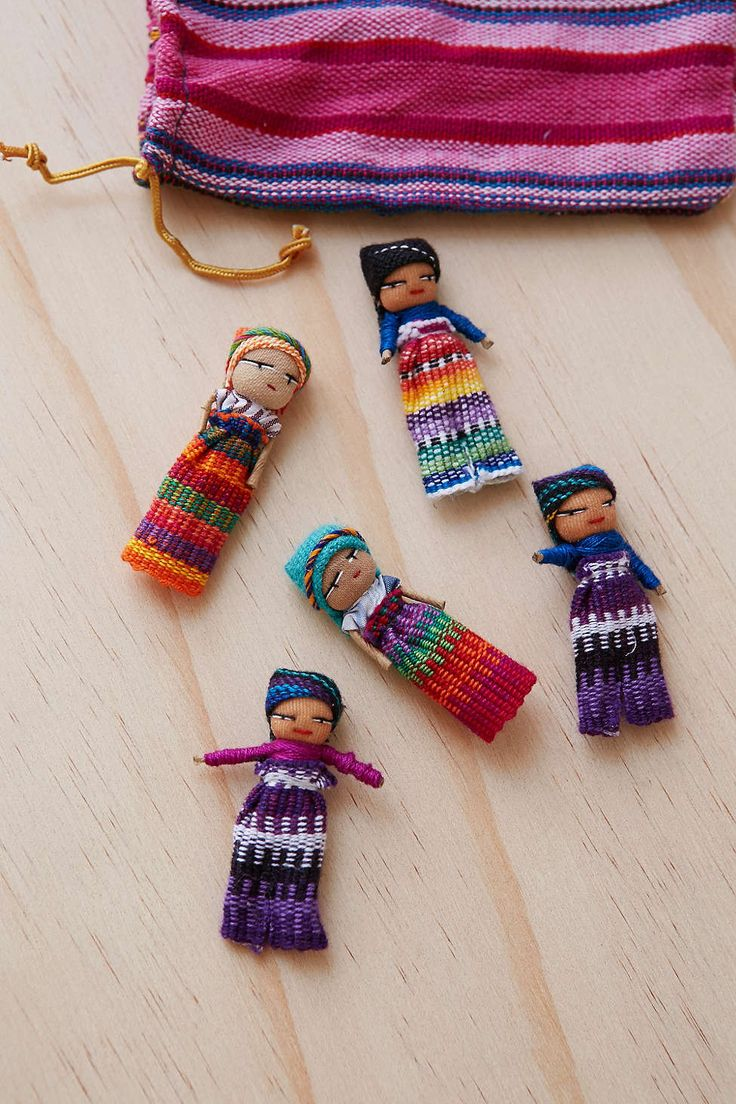 7 best worry doll images on Pinterest | Worry dolls, Cooking food ...