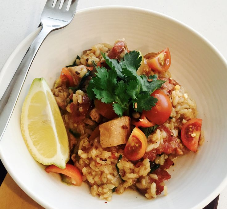 This chicken paella has been adapted from Donna Hay's Simple Dinners recipe book, one of my most used cookbooks at home. I love Donna Hay's approach to cooking. In addition to having fr…