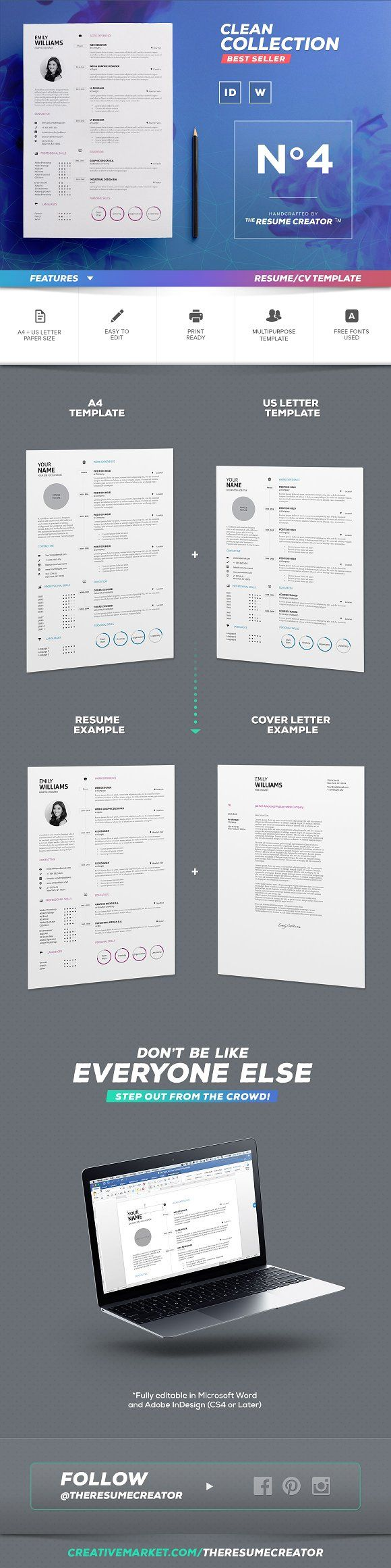 1094 best Design Resumes