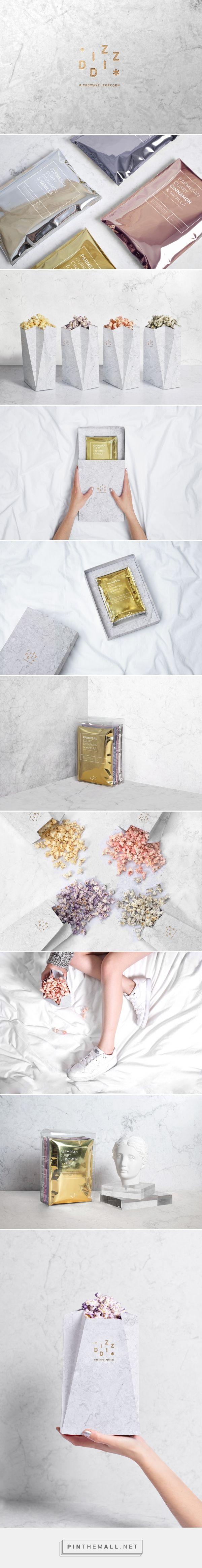 Diz-Diz Popcorn Packaging by Tatabi Studio on Behance | Fivestar Branding – Design and Branding Agency & Inspiration Gallery