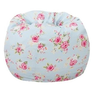 Floral Bean Bag BagsOttomans And CubesBeanbag ChairPottery Barn