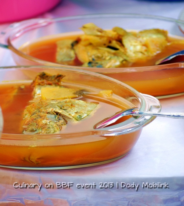 the traditional soup of fish from Belitong, called Gangan soup! :)
