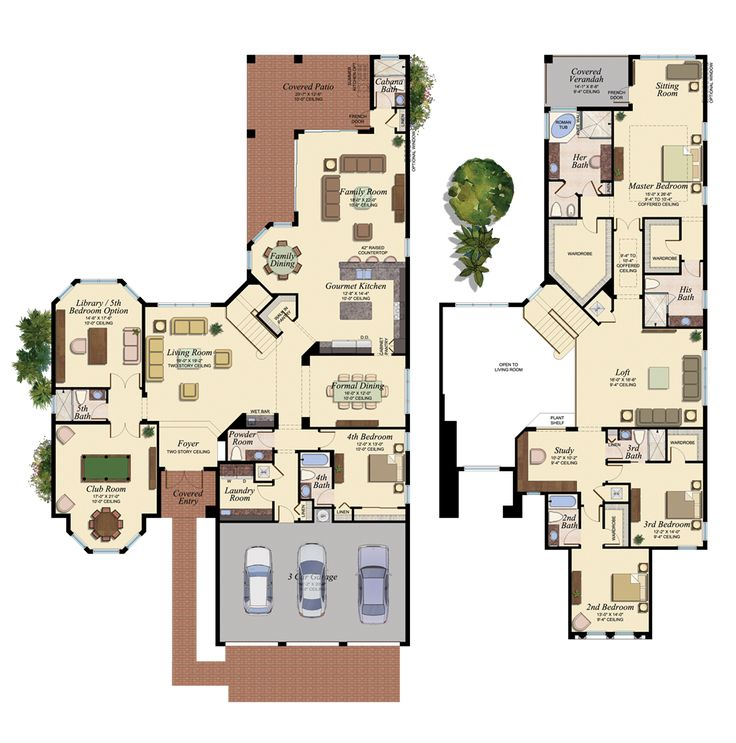 82 Best Florida Homes Favorite Floorplans Images On