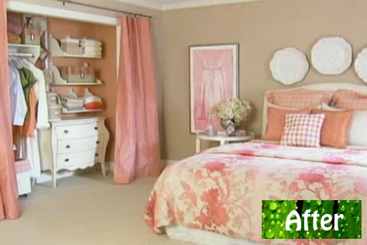 Curtain replace closet door ~ Decorate our home with beautiful ...