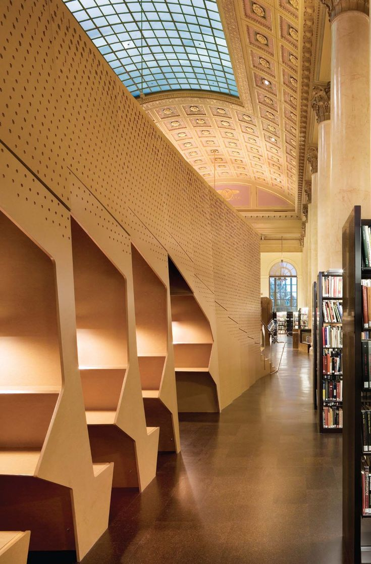 RISD library | office dA. mdf | material imagination ...