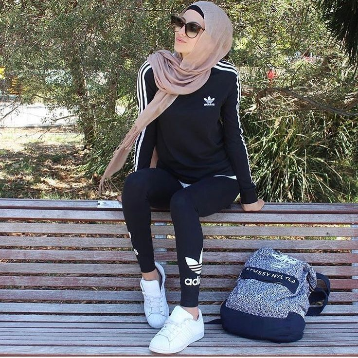 Pin by Tasniaud83eudd40 on V I R G O | Pinterest | Instagram Hijab outfit and Sport wear