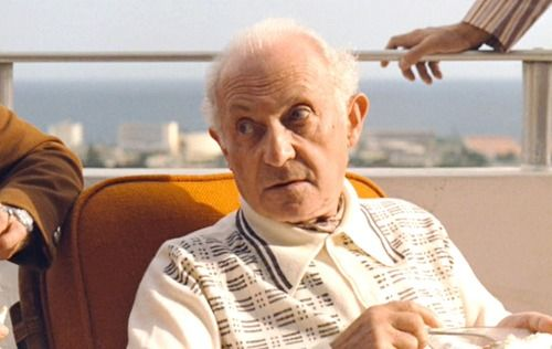 Lee Strasberg as Hyman Roth in The Godfather Part II (1974)