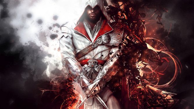 """On one side, we see the PlayStation 3 originals, and on the other one, we can have a look at the PlayStation 4 versions..."" #assassinscreed #theeziotollection #brotherhood #revelations #embers #lineage https://ps4pro.eu/2016/11/11/assassins-creed-the-ezio-collection-a-generation-of-improvement-video/"