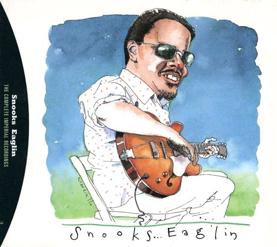 Snooks Eaglin by Joe Ciardiello Capitol Blues Collection (1995)