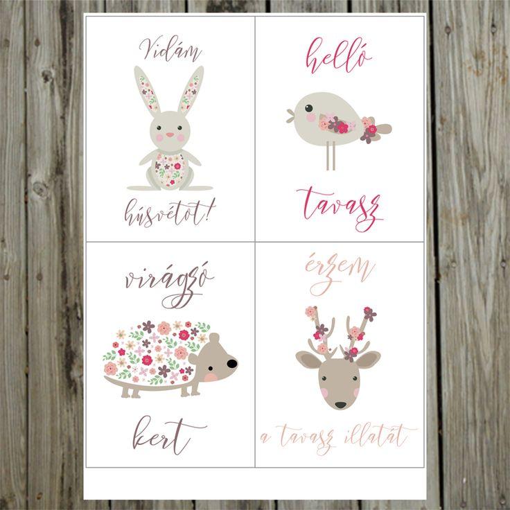 NőiCsizma | Érzem a tavasz illatát-PL kártyák