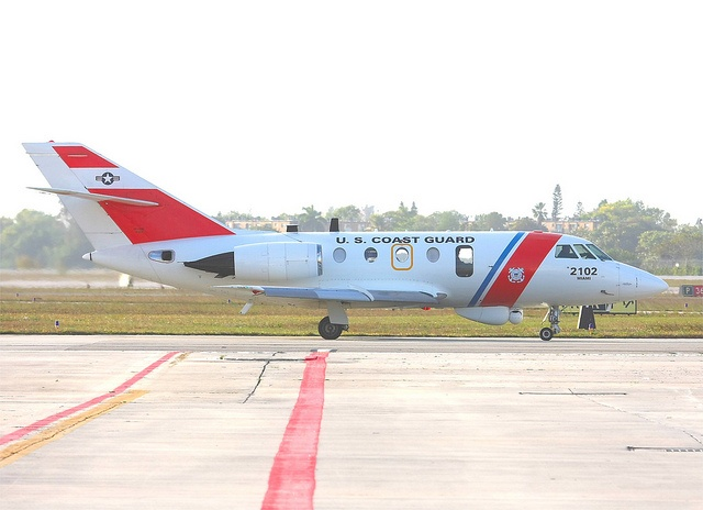 "2nd March 2011., United States Coast Guard Station Opa Locka, Florida, USA  Based at Opa Locka airport near Miami, Florida., this ""Falcon 20"" is about to depart on another mission     #Patriotic"
