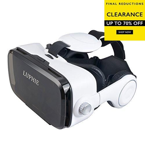 Introduction of #LUPHIE VR Headset This new 3D VR headset is specially designed for 4.7-6.2 inches smart phone,it can be regard as your private 3D movie cinema ...