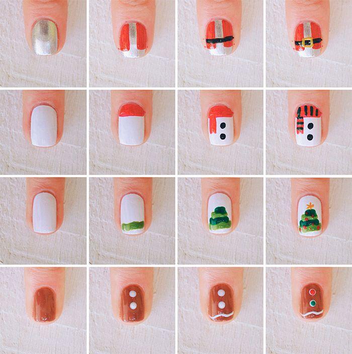 nail-art-de-natal | Jess Vieira | Depois dos Quinze
