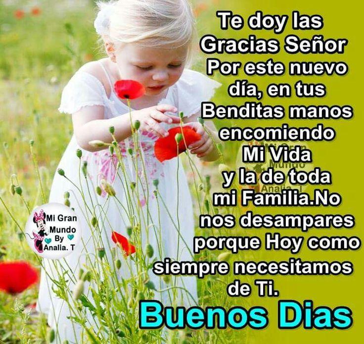Buenos Dias & Dios te bendiga!!!..Muchas BENDICIONES!!!!