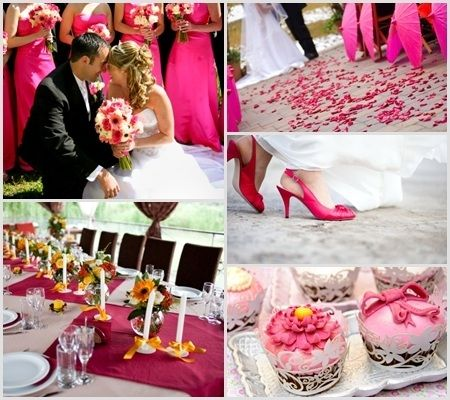 10 best pink wedding color ideas images on pinterest pink wedding wedding color scheme ideas pink wedding color ideas 450x400 junglespirit Gallery