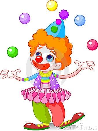 50 best clip art clowns images on pinterest. Black Bedroom Furniture Sets. Home Design Ideas