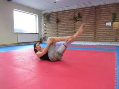 Posilování břišních svalů #2 - YouTube