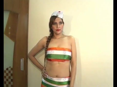 Tanisha Singh's PHOTOSHOOT causes DISRESPECT to INDIAN FLAG.