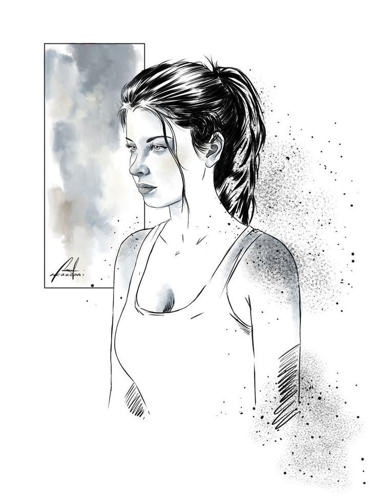 Tinta Y acrílico Digital por M-HACKER-A - Retratos   Dibujando.net