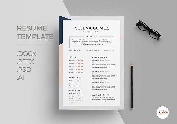 Elegant CV Template  @creativework247