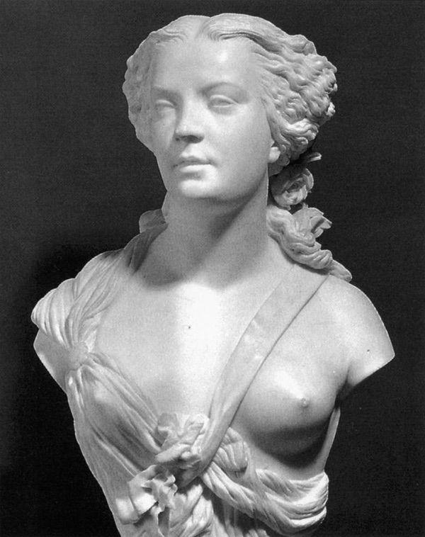 Le buste d'Apollonie Sabatier