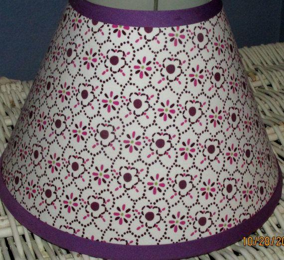 ON SALE Brooklyn Girls Purple Lavender Lamp Shade made 2 match Pottery Barn Kids on Etsy, $15.75