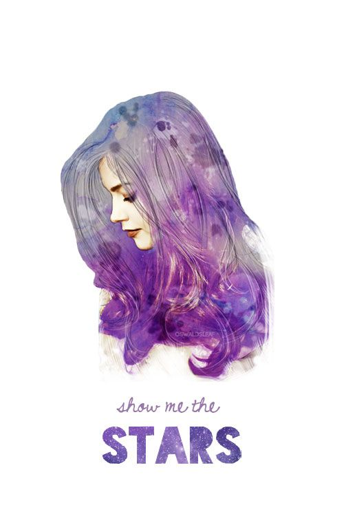 """Rescue me, Chin Boy, and show me the stars."" Such a beautiful portrait of Clara. <3"