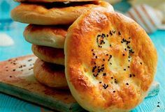 Tyrkiske brød (Recipe in Danish)