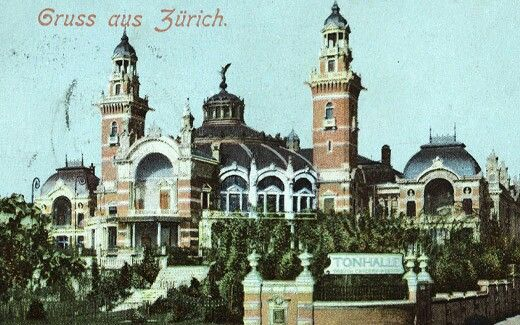 The old opera of Zurich
