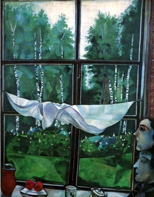 ​​View from the window Zaolchye, Chagall
