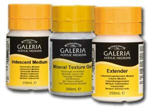 Winsor & Newton Galeria Acrylic Mediums 250ml  £5 to end Oct 2014