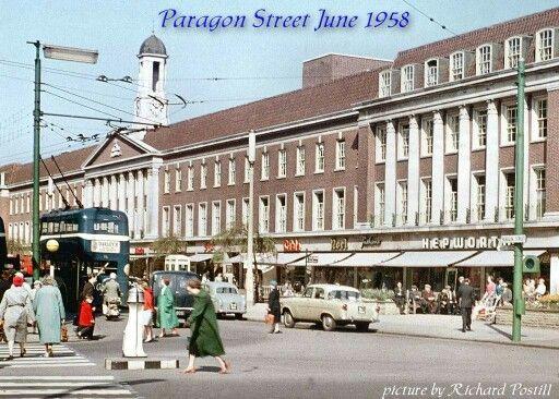 Hull Paragon street.