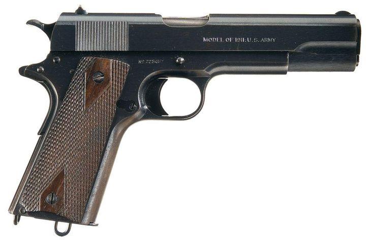 17 Best images about WW1: Weapons of Warfare on Pinterest ... M1911 Pistol Ww1