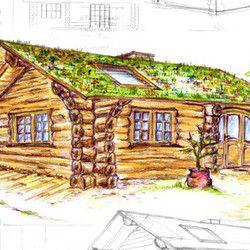 Kanadisches Blockhaus Blueberry Cove