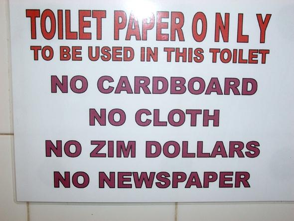 Bulawayo, Zimbabwe  So sad!
