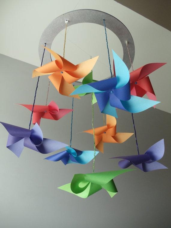 pinwheel mobile
