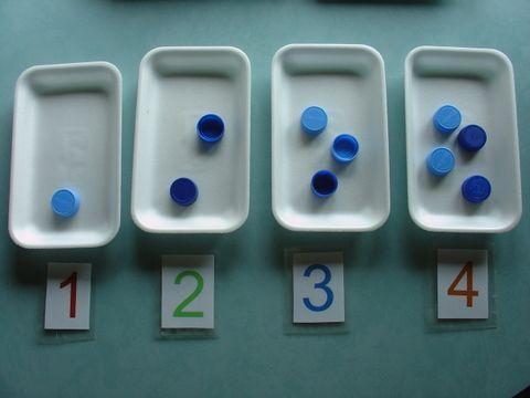 Un polsim de sal: Continguts clau de matemàtiques a educació infantil