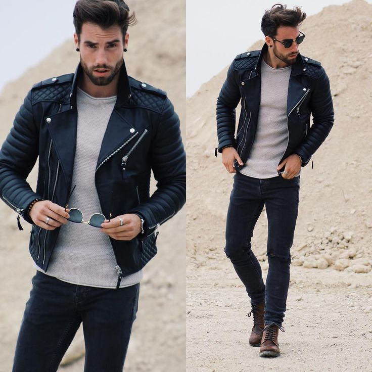 Bad boy style outfit
