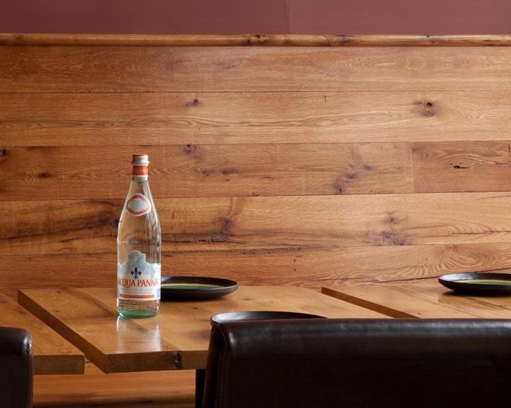 Longleaf Lumber custom-milled reclaimed White Oak tables and paneling for  Thelonius Monkfish restaurant in - 34 Best Images About Reclaimed Wood Counters, Tables & Mantels On