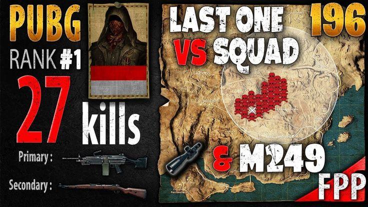 PUBG Rank 1 - Mishotta 27 kills [AS] SQUAD FPP - PLAYERUNKNOWN'S BATTLEG...