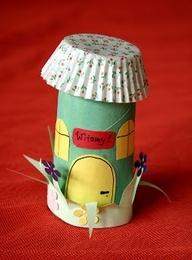 fairy houses craft kids