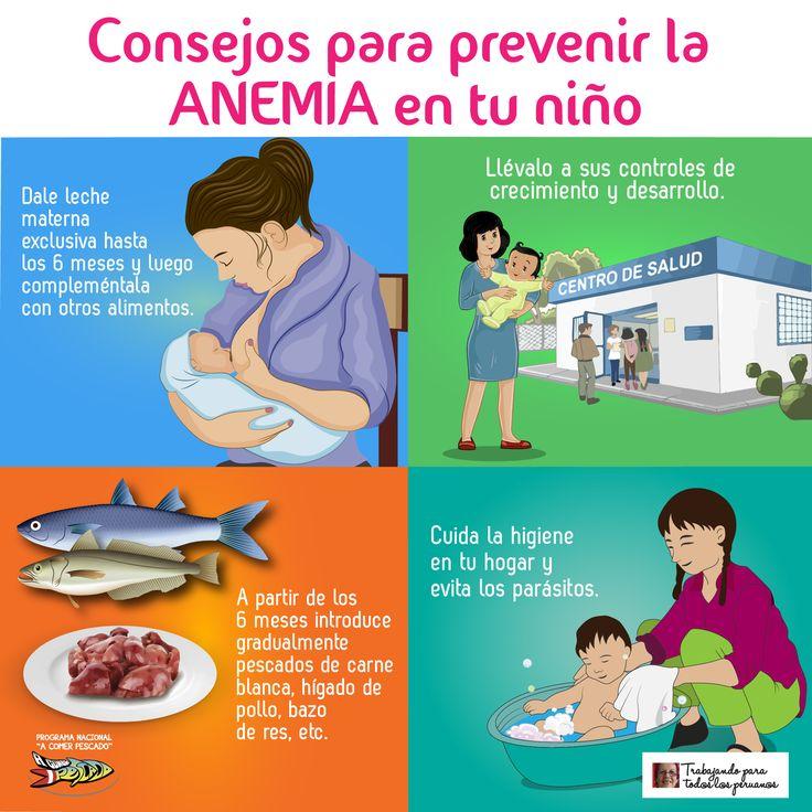 Consejos para prevenir la anemia en tu niño