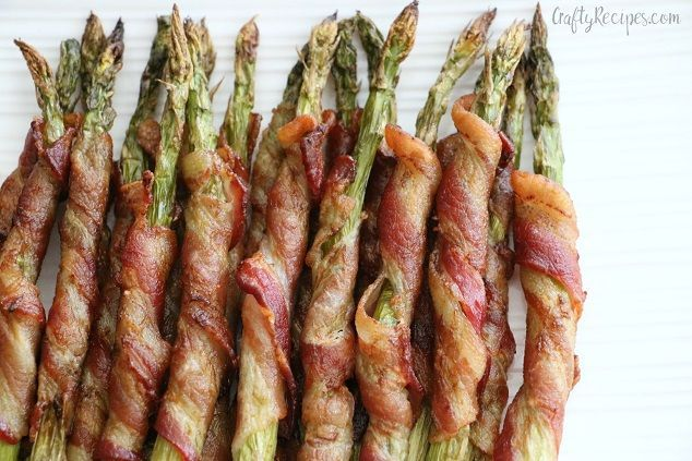 Bacon Wrapped Asparagus   Smoked bacon, Prepping and Asparagus