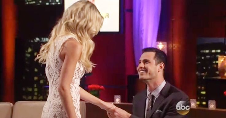 'Bachelor' Ben Higgins proposed again to his fiancée during the After the Final Rose special on Monday, March 14 — watch